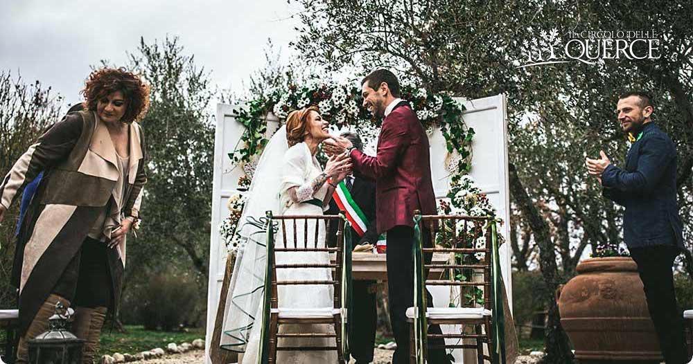 allestimenti matrimonio invernale