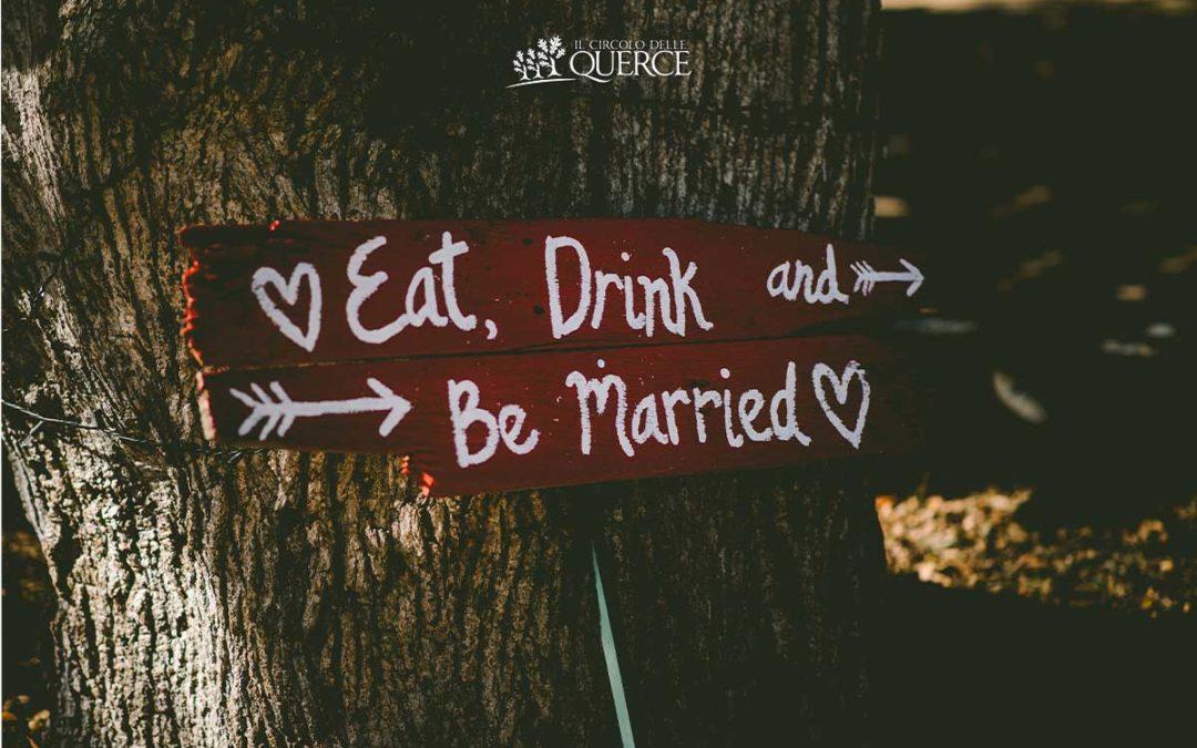 Allestimento per matrimonio in giardino: ispirazione per una decorazione originale
